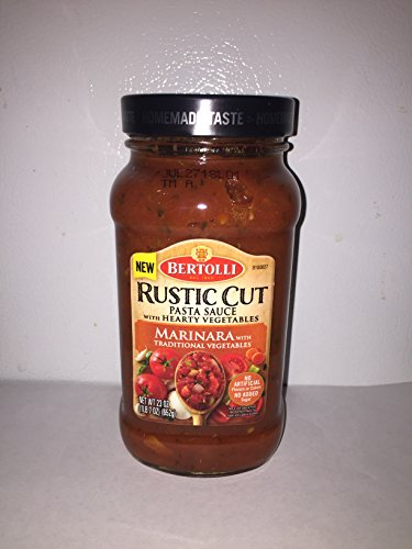 Bertolli Rustic Cut Pasta Sauce Marinara with Traditional Vegetables 3 PACK