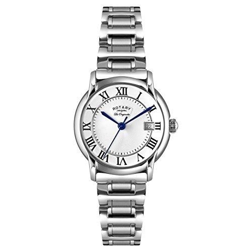 Rotary LB90140-07 Ladies Les Originales Carviano Silver Steel Watch