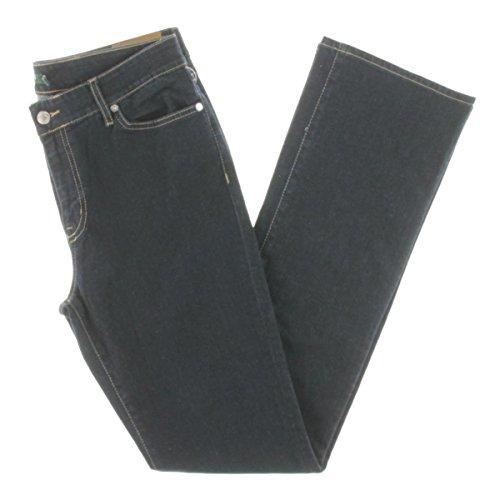Lauren Ralph Lauren Womens Skinny Denim Bootcut Jeans Navy 6 ()
