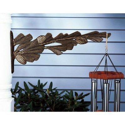 Whitehall Products Pinecone Nature Hook, Copper Verdi