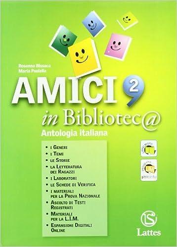 AMICI IN BIBLIOTECA ANTOLOGIA ITALIANA 2