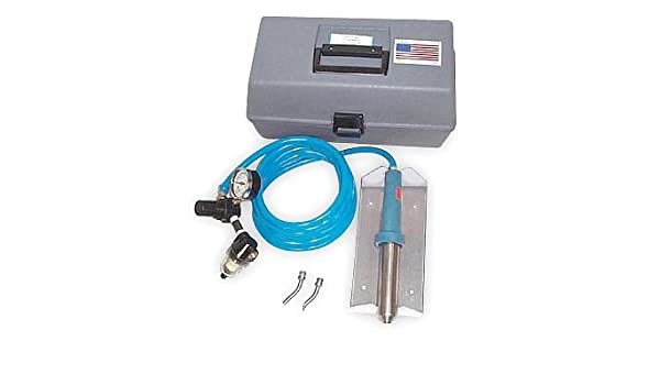 Seelye 270-2001FCP PortaWelder Kit with 500W 120V Heating Element and Gray Carrying Case American Blue