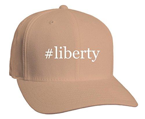 #liberty - Hashtag Adult Baseball Hat, Khaki, Small/Medium