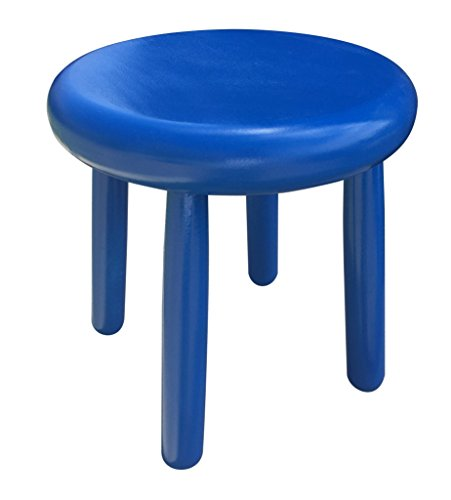Small Wood Four Legged Stool, Modern Plant Stand, Choose Finish by Candlewood Furniture, Wooden, Tea Table, Kids Chair, Decorative by Candlewood Furniture (Image #1)