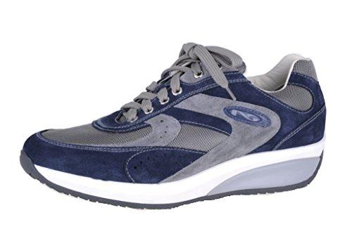Nero Giardini - Zapatillas para hombre Azul azul Blu (Cam. Incanto)