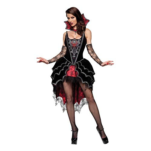 YaXuan Cosplay/Halloween Costumes/Vampire Devil/Female Spider Game Uniform/Halloween / Carnival/Day of The Dead Festival/Holiday Halloween Costumes (Color : 1, Size : M)]()