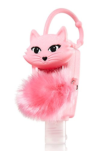 Pocketbac Holder Furry Pink Cat