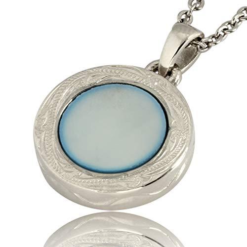 Austaras Seashell Necklace - Hawaiian Stainless Steel Necklace Pendant