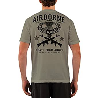 Dead Or Alive Clothing ARMY 82ND AIRBORNE Performance Short Sleeve