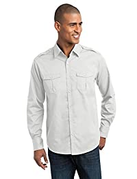 Port Authority Men's StainResistant Roll Sleeve Twill Shirt
