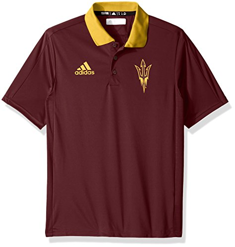 - adidas NCAA Arizona State Sun Devils Adult Men NCAA Sideline Coaches Polo, Large, Maroon