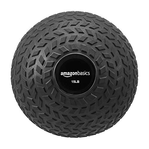 AmazonBasics Slam Ball, Arrow Grip, 15-Pound