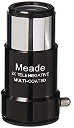 Meade Instruments #126 1.25-Inch 2x Short-Focus Barlow Lens