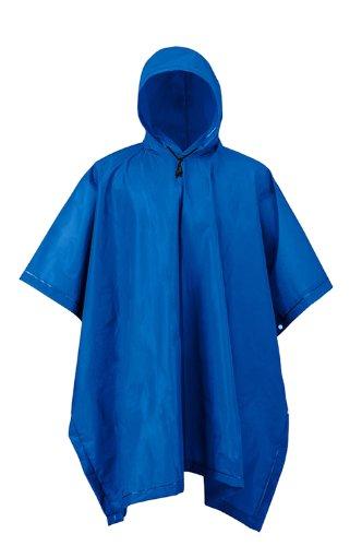 Mossi Youth XT Series Rain Poncho (Navy Blue)