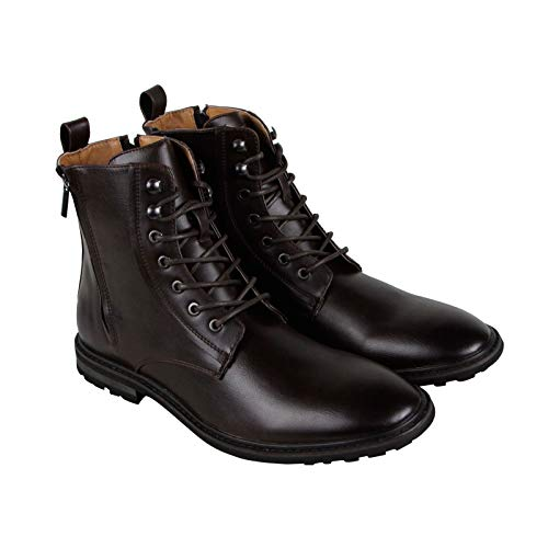 (RW by Robert Wayne Men's Thatcher Fashion Boot, Brown, 10 D US)