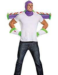 Disguise Men's Disney Pixar Toy Story and Beyond Buzz Lightyear Adult Costume Kit