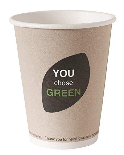 Vaso cartón compostable y biodegradable 24 cl x 40: Amazon.es: Hogar