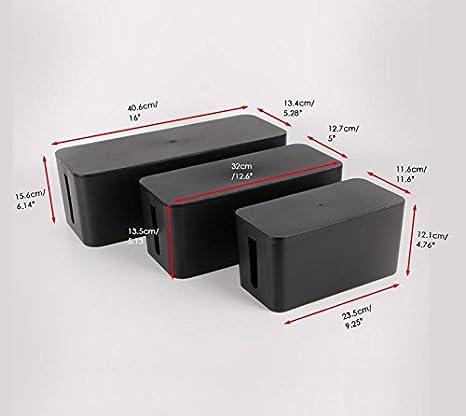 Home office cable management Computer Desk Image Unavailable Massagecursus Amazoncom Cable Management Organizer Boxpower Strips Hiderpower