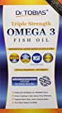 #8: Dr. Tobias Omega 3 Fish Oil Triple Strength, Burpless, Non-GMO, NSF-Certified, 180 Counts