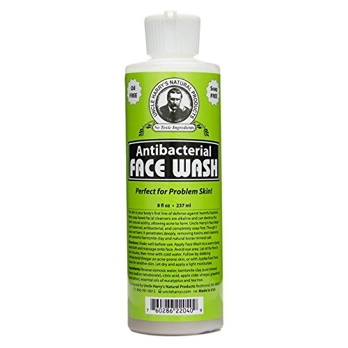 Uncle Harry's Natural Antibacterial Face Wash (8 fl oz) ()
