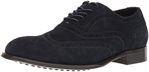 Kenneth Cole New York Mænds Design 10521 Oxford Midnght Flåde FAYm9ktxM