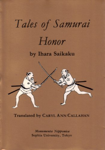 Tales of Samurai Honor: Buke Giri Monogatari (A Monumenta Nipponica - Giro Tune
