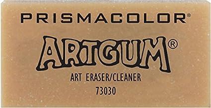 2-Inch x 1-Inch x 7//8-Inch Prismacolor Premier ArtGum Block Eraser 1 Count