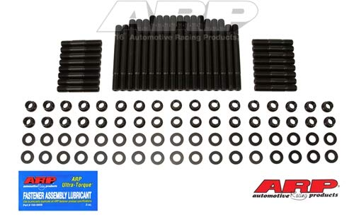 (ARP 234-4323 Pro Series Black Oxide 12-Point Cylinder Head Stud Kit for Small Block Chevy with Dart 18 Degree Head)