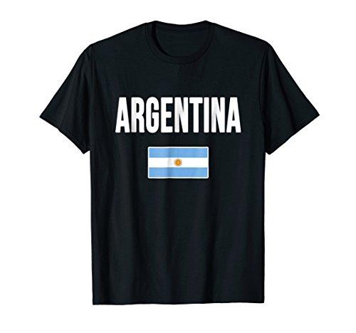 Argentina T-shirt Argentinian Flag