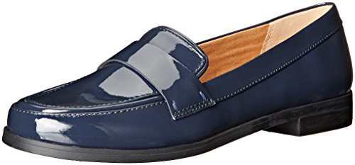 Franco Sarto On Navy Valera Loafer Patent Slip Women's UU8wrFq