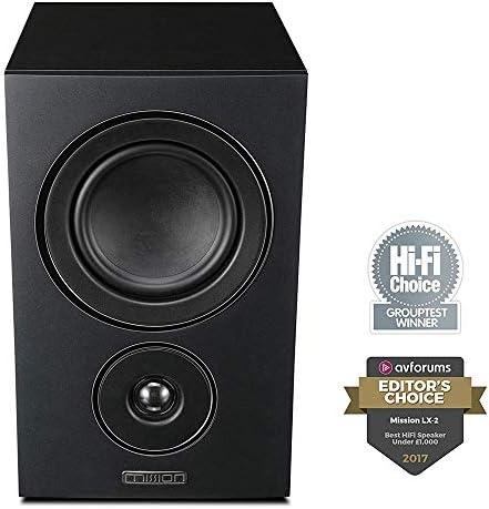 Mission LX Series Bookshelf HiFi HD Stereo Surround LX-2 Furniture Speaker