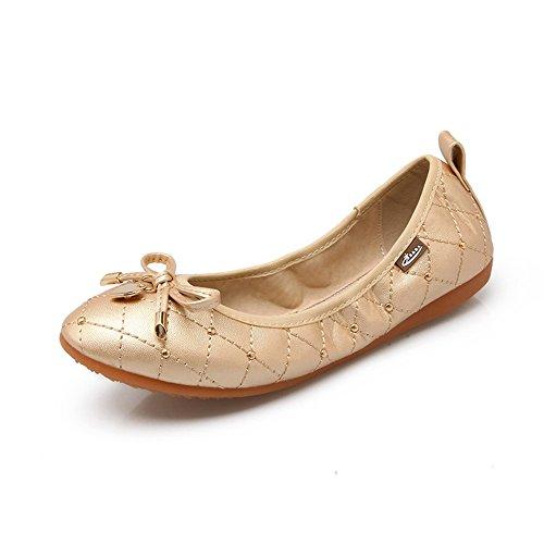 Meeshine donna Meeshine Gold Ballet Ballet Zq1R4R