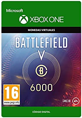 BATTLEFIELD V - 6000 BATTLEFIELD CURRENCY 6000 BATTLEFIELD CURRENCY | Xbox One - Código de descarga: Amazon.es: Videojuegos