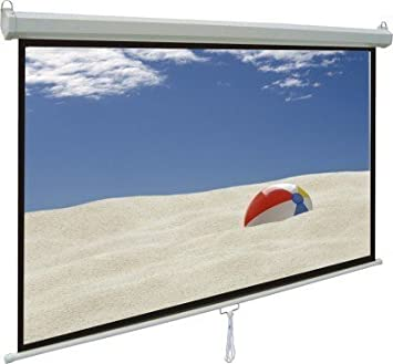 Pantalla Proyector Globalscreen Basic Manual 146x113cm: Amazon.es ...