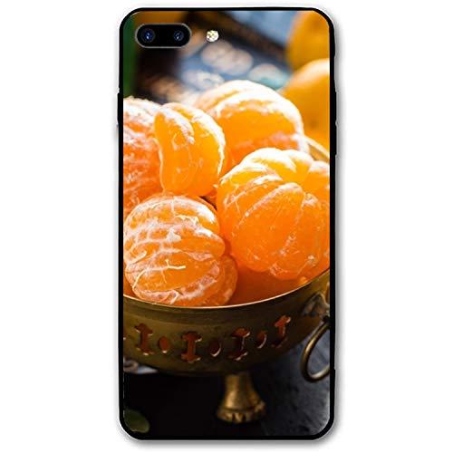iPhone 8 Plus Case Girls, Appetizing Citrus Clementines Slim-Fit Shock Proof Anti-Finger Print Gel Case iPhone 8 Plus