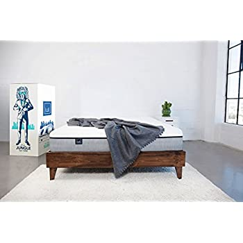 Lull - Memory Foam Mattress |  Size | 3 Layers of Premium Memory Foam, Therapeutic Support, Breathable for Ideal Temperature, 100 Night Trial, and 10-Year Warranty