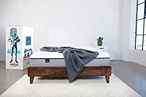 Lull Queen Mattress, 3 Layers of Premium Memory Foam Provide Comfort and Therapeutic Support, 100 Night Trial and 10-Year Warranty