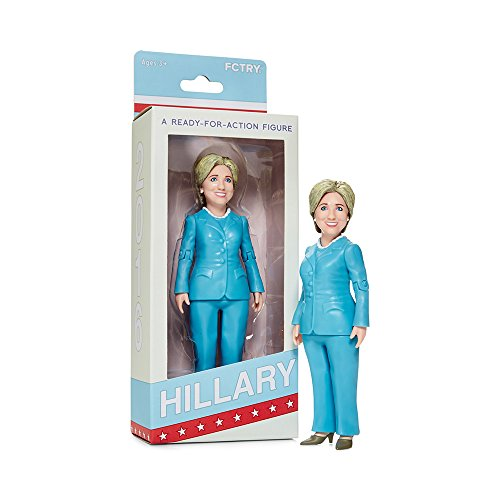 Hillary Clinton Ready For Action Figure (Hillary Clinton Nutcracker)