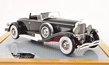 Duesenberg Model J Murphy Coupe Whittell, black/Chromee , black, 1931, Model