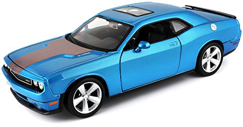 Maisto 1:24 Scale 2008 Dodge Challenger SRT8 Diecast Vehicle (COLORS VARY) 24 Kids Plastic Car