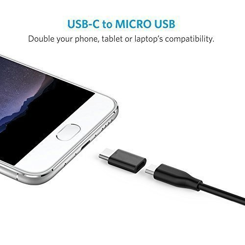 2-in-1-Pack-AOKER-USB-C-to-Micro-USB-Adapter-Converts-USB-Type-C-input-to-Micro-USB-With-56K-Resistor-Works-with-Google-Pixel-HTC-10-LG-G5-Nexus-5X-Nexus-6P-OnePlus-2-and-More-Black