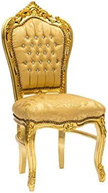 sedia luigi stile francese oro