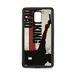 Customized Hard Back Case Cover for Samsung Galaxy Note 4 with Unique Design Walking Dead