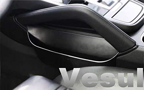 (Vesul ABS Armrest Storage Box Center Console Handle Tray Holder Organizer Compatible with Porsche Cayenne 2019 ONLY)