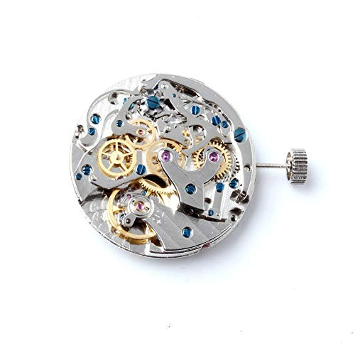 - Pukido Original Seagull Mechanical TY2901 handwinding Movement For Mens Chronograph Watch Parts 31.3MM Clock Movement St1901
