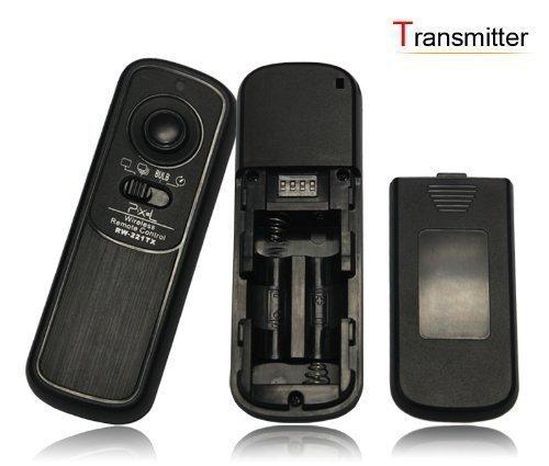 RainbowImaging 100 Meter 2.4GHz Wireless Remote Shutter Release for Panasonic Lumix DMC FZ20, FZ20K, FZ25, FZ30, FZ50, LC1, L10, L1, G1, GH1, GF1, GH2, G2 & Leica Digilux 1, DIGILUX 2, DIGILUX 3, Replaces panasonic DMW-RS1