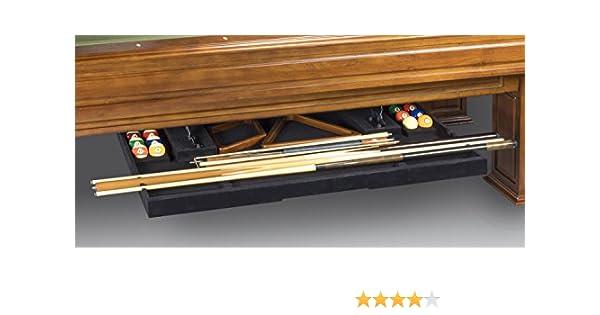 Legado billar perfecta cajón estante de 2 piezas para 8 mesa de billar: Amazon.es: Deportes y aire libre