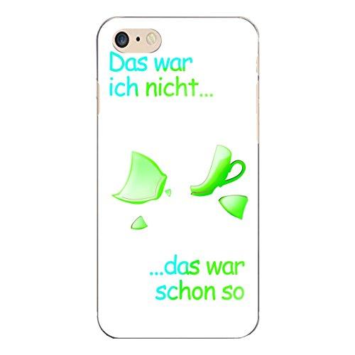 "Disagu Design Case Coque pour Apple iPhone 7 Housse etui coque pochette ""Das war...-grün"""