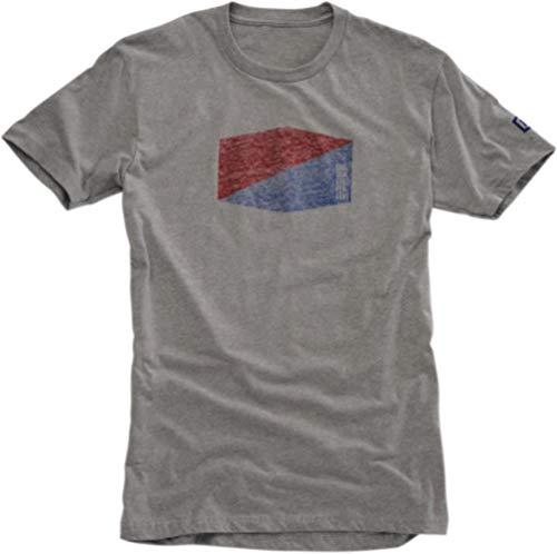 Homme Fr S Gris Fabricant 100 Emblem shirt T taille Sm qzXt6