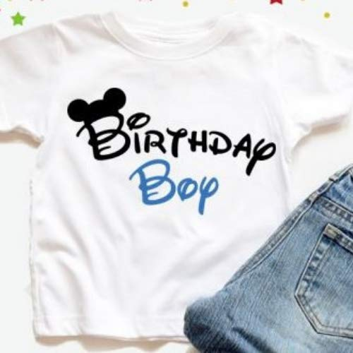 Disney Birthday Boy Shirt Mickey Mouse Tshirt Handmade